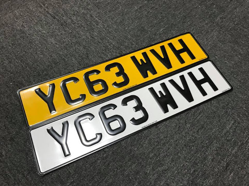 Where to buy number plates